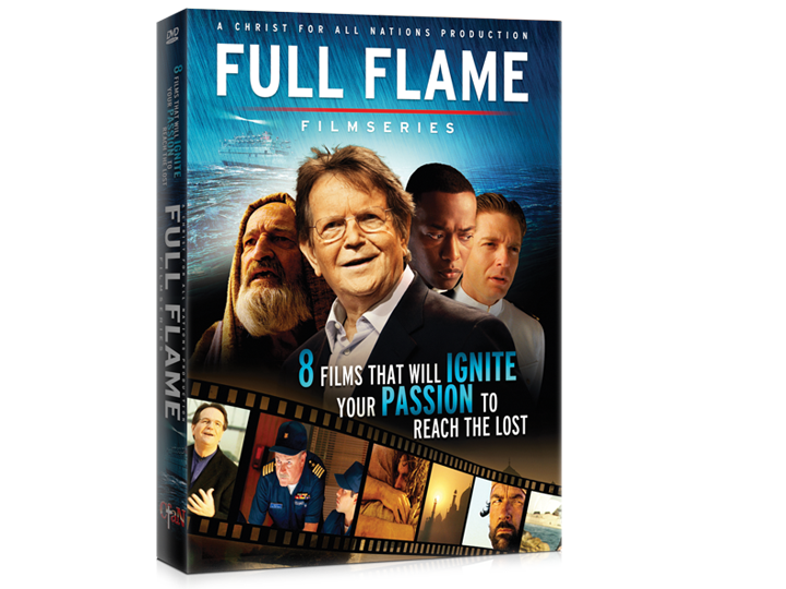 Fabuleux Christ for all Nations - Full Flame Film Series (4 DVD's) TI01